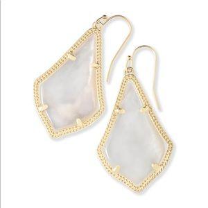 Kendra Scott Alex Mother of Pearl Earrings
